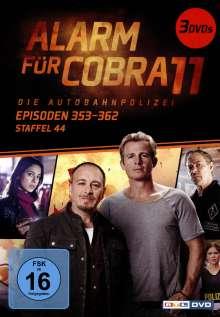 Alarm für Cobra 11 Staffel 44, 3 DVDs