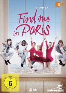 Find me in Paris Staffel 2 Vol. 1, 2 DVDs