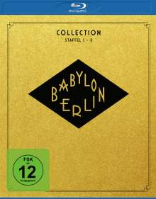 Babylon Berlin Collection Staffel 1-3 (Blu-ray), 7 Blu-ray Discs
