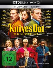 Knives Out (Ultra HD Blu-ray & Blu-ray), 1 Ultra HD Blu-ray und 1 Blu-ray Disc