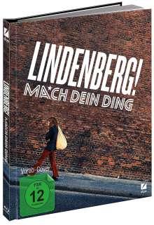 Lindenberg! Mach dein Ding (Blu-ray & DVD im Mediabook), 1 Blu-ray Disc und 1 DVD
