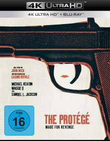 The Protege - Made for Revenge (Ultra HD Blu-ray & Blu-ray), 1 Ultra HD Blu-ray und 1 Blu-ray Disc