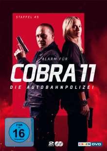 Alarm für Cobra 11 Staffel 45, 2 DVDs