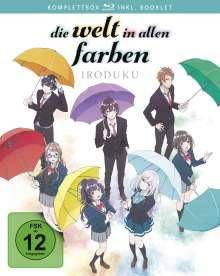 Die Welt in allen Farben (Komplettbox) (Blu-ray), 2 Blu-ray Discs