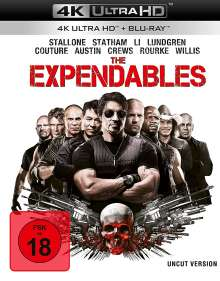 The Expendables (Ultra HD Blu-ray & Blu-ray), 1 Ultra HD Blu-ray und 1 Blu-ray Disc