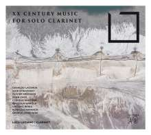 Luca Luciano - XX Century Music for Solo Clarinet, CD