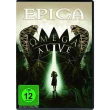 Epica: Omega Alive (BluRay+DVD), 1 Blu-ray Disc und 1 DVD