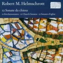 Robert M. Helmschrott (geb. 1938): Kirchensonaten Nr.1-12, 2 CDs