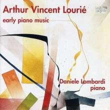 Arthur Lourie (1892-1966): Klavierwerke, CD