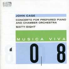 John Cage (1912-1992): Konzert für präpariertes Klavier & Kammerorchester, CD