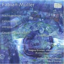 Fabian Müller (geb. 1964): Cellokonzert, CD