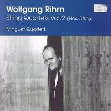 Wolfgang Rihm (geb. 1952): Streichquartette Vol.2, CD