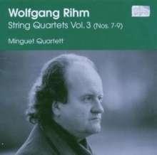 Wolfgang Rihm (geb. 1952): Streichquartette Vol.3, CD