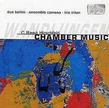 Caspar Rene Hirschfeld (geb. 1965): Sommernachtsvariationen op.55 für Harfe & Schlagzeug, CD