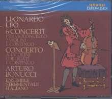 Leonardo Leo (1694-1744): Cellokonzerte Nr.1-6, CD