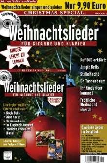 Weihnachtslieder für Gitarre und Klavier - Christmas Special (+ Begleitheft), DVD