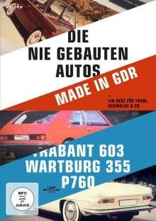 Die nie gebauten DDR-Autos und ein Herz für Trabi, Schwalbe & Co, DVD
