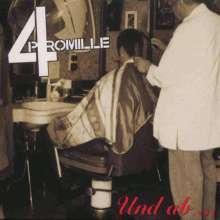 4 Promille: Und ab..., LP