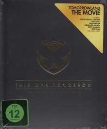 This Was Tomorrow: The Tomorrowland Movie, Blu-ray Disc