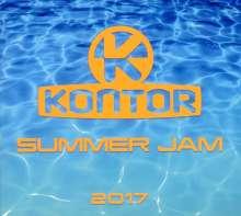 Kontor Summer Jam 2017, 3 CDs