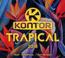 Kontor Trapical 2018, 3 CDs