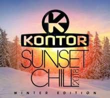 Kontor Sunset Chill 2018 - Winter Edition, 3 CDs
