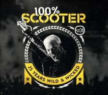 Scooter: 100% Scooter: 25 Years Wild & Wicked (Limited-Edition), 5 CDs
