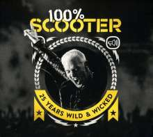Scooter: 100% Scooter: 25 Years Wild & Wicked, 3 CDs