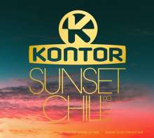 Kontor Sunset Chill 2018, 3 CDs