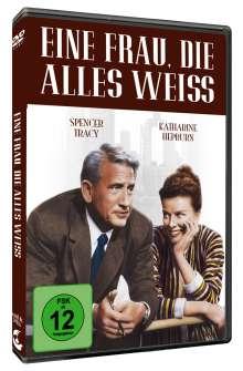 Eine Frau, die alles weiß, DVD