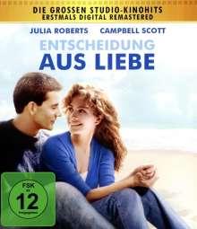 Entscheidung aus Liebe (Blu-ray), Blu-ray Disc