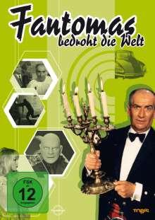 Fantomas bedroht die Welt, DVD