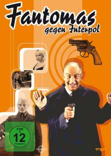 Fantomas gegen Interpol, DVD