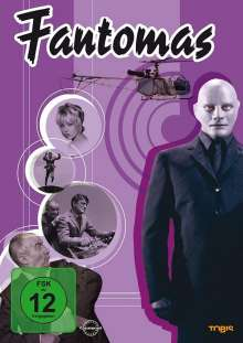 Fantomas, DVD