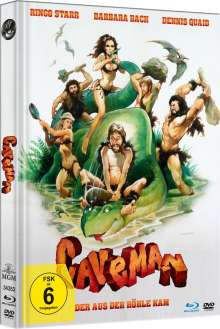 Caveman (Blu-ray & DVD im Mediabook), 2 Blu-ray Discs