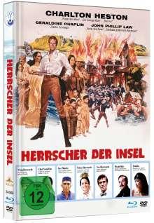 Herrscher der Insel (Blu-ray & DVD im Mediabook), 1 Blu-ray Disc und 1 DVD