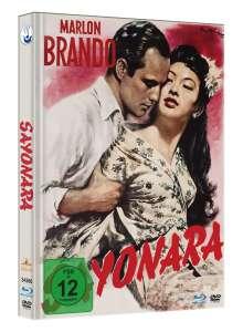 Sayonara (Blu-ray & DVD im Mediabook), 1 Blu-ray Disc und 1 DVD