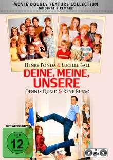 Deine, Meine, Unsere (1968 & 2005), 2 DVDs