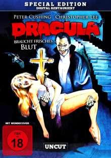 Dracula braucht frisches Blut, DVD