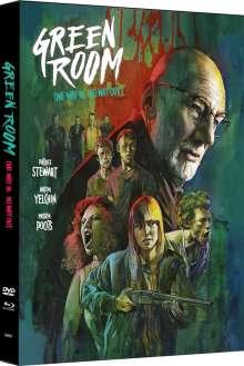 Green Room (Blu-ray & DVD im Mediabook), 1 Blu-ray Disc und 1 DVD