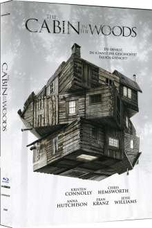 The Cabin in the Woods (Ultra HD Blu-ray & Blu-ray im Mediabook), 1 Ultra HD Blu-ray und 1 Blu-ray Disc