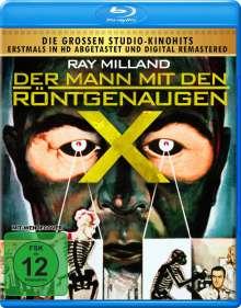 Der Mann mit den Röntgenaugen (Blu-ray), Blu-ray Disc