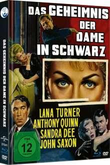 Das Geheimnis der Dame in Schwarz (Blu-ray & DVD im Mediabook), 1 Blu-ray Disc und 1 DVD