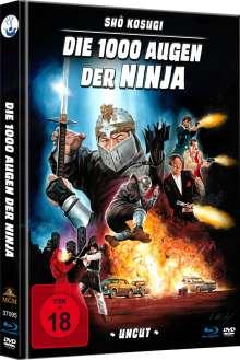 Die 1000 Augen der Ninja (Blu-ray & DVD im Mediabook), 1 Blu-ray Disc und 1 DVD