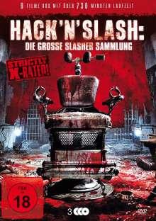 Hack'n'Slash: Die große Slasher Sammlung (9 Filme auf 3 DVDs), 3 DVDs