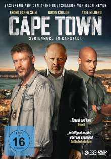 Cape Town - Serienmord in Kapstadt, 3 DVDs