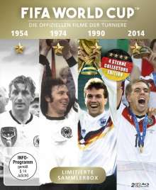 FIFA World Cup 54-74-90-14: Deutschland ist Weltmeister - Die offiziellen Filme der Turniere (Blu-ray), 2 Blu-ray Discs