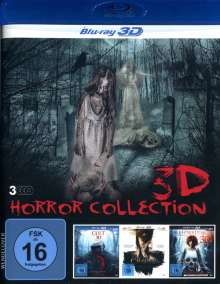 3D Horror Collection (3D Blu-ray), 3 Blu-ray Discs