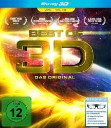 Best of 3D Vol. 10-12 (3D Blu-ray), Blu-ray Disc