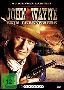 John Wayne: Sein Lebenswerk (Metallbox), 12 DVDs
